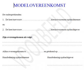 Wet DBA - VAR nieuwe stijl: dit zijn de misvattingen over modelovereenkomsten